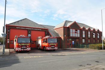 High Handenhold Fire Station