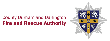 County Durham and Darlington Fire and Rescue Authority logo crest