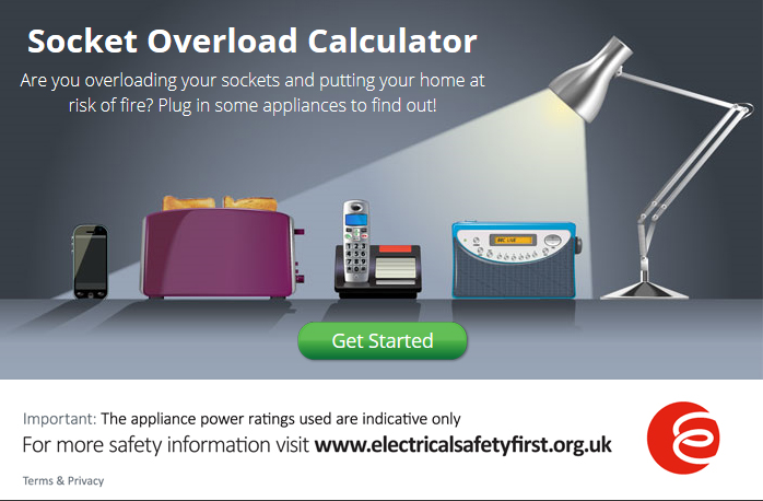 start the socket overload calculator test