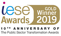 iESE Awards Gold Winner 2019 - Fire and Rescue Service