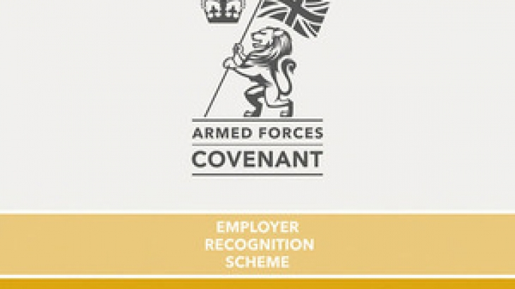 Armed Forces Covenant Employer Recognition Gold Award