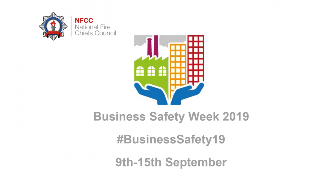 Business Safety Week 2019 banner